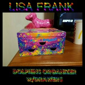 Vintage Lisa Frank Box w/ Mirror & Drawers